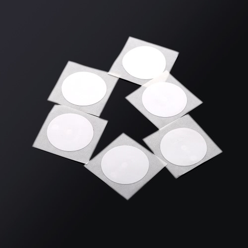 6pcs Smart NFC Tags Stickers NFC Chip with Coated Paper 888 bytes NXP NTAG216 for Samsung Galaxy S5 S4 Note 3 Nokia Lumia 920 Sony Xperia Nexus 5