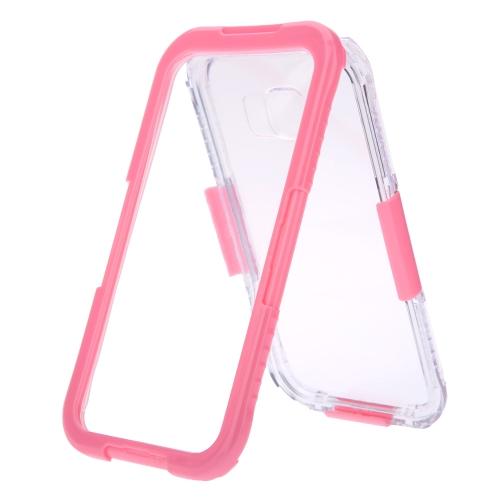 Poids léger Durable protection Case Shell couvercle étanche à la poussière IP68 antichoc avec chaîne pour Galaxy S6