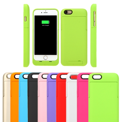 3200mAh External Backup Battery Charger Case Cover Pack Power Bank Rechargeable Portable for Apple iPhone 6 4.7