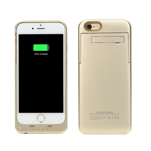 3200mAh External Backup Battery Case Charger Cover Pack Power Bank Rechargeable Portable for Apple iPhone 6 4.7
