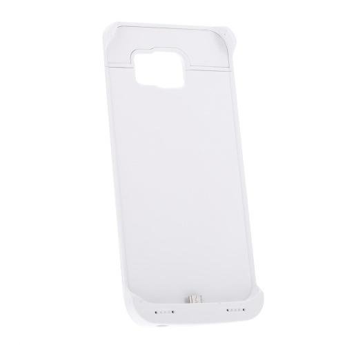 Recarregável bateria de Backup externa caso poder caso 4200mAH para Samsung S6