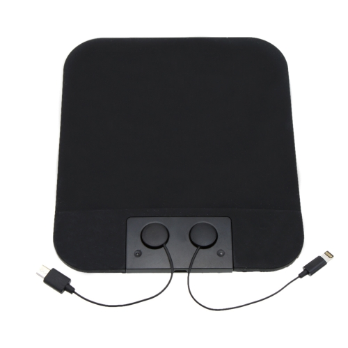 Non-slip Magnetic Charging Mat Pad Cell Phone Tablet Accessories with 2 Micro USB Cables for iPhone 6 Samsung 6 iPad