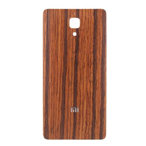 Original Xiaomi Mi4 Wooden Back Cover White Oak Stylish Portable Ultrathin Anti-scratch Anti-dust Durable