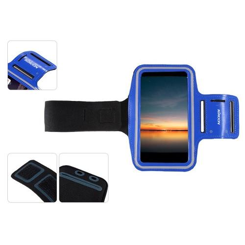 KKmoon esporte braço bolsa Jogging banda ginásio executando cinta ajustável suar-absorvente TPU para iPhone 6 6S