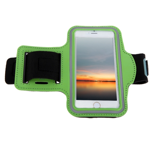 Sport Arm Pouch Jogging Band Gym Running Strap Adjustable Sweat-absorbent TPU for iPhone 6
