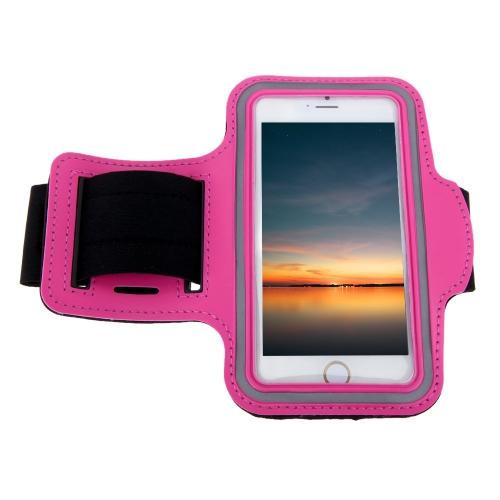 スポーツアームポーチジョギングバンドジムランニングストラップ調節可能吸汗TPU  iPhone 6用【並行輸入品】
