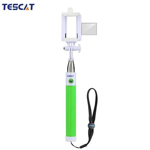 TESCAT TS800 Bluetooth do eixo telescópico estendendo Selfie monopé vara titular remoto botão 8