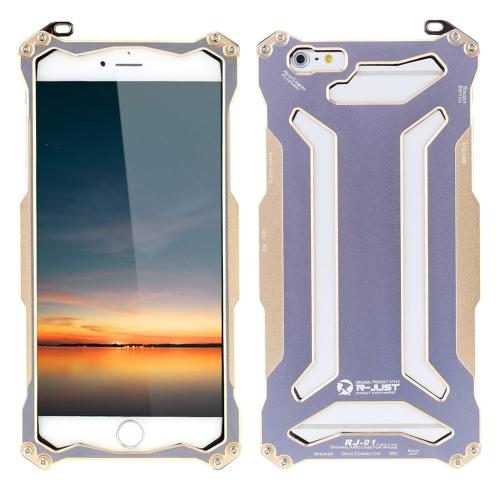 Original apenas R transformador da fibra do carbono Metal alumínio Frame Gundam exterior escalada caso cobrir para Apple iPhone 6plus 5,5 polegadas