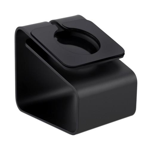 Sólida alumínio liga Metal carregamento Stand suporte Docking estação estoque berço titular para iWatch relógio da Apple 38mm e 42mm