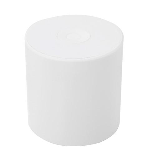 Mãos de suporte portátil Smart Premium Mini sem fio cilíndrico Bluetooth alto-falante estéreo sistema de áudio de baixa frequência livre tirar fotos de alarme anti-perdido