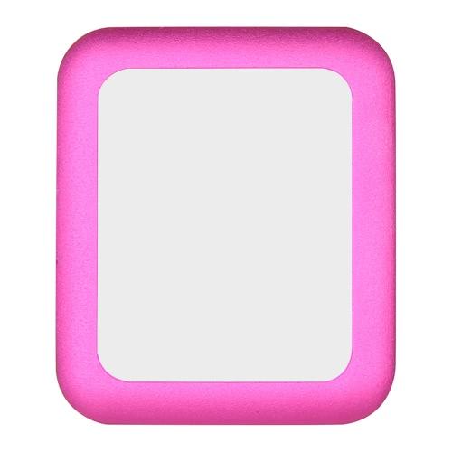 Link sonho Premium temperado vidro protetor de tela cobrir para 42 milímetros Apple relógio iWatch proteção global Metal Frame 8-9H 0,2 mm espessura elevada transparência anti-riscos anti-poeira-à prova de explosão