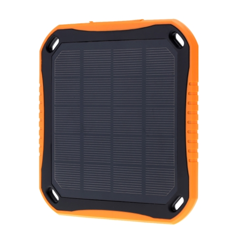 5600mAh Solar Charger Outdoor Solar Mobile Charger Waterproof External Battery Power Bank for Smartphone iPad Camera iPhone Samsung