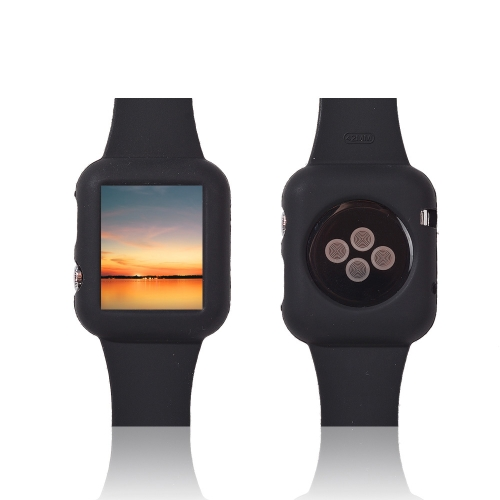 Moda Design cinturino in silicone per Apple iWatch 38mm Eco-friendly materiale ultrasottile leggero alla moda portatile antigraffio antiscivolo durevole