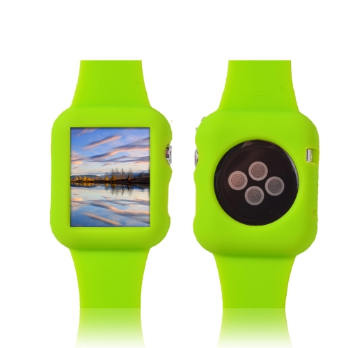 Moda Design pulseira de silicone para Apple iWatch 38mm Eco-friendly Material Ultrathin leve elegante portátil anti-scratch antiderrapagem durável