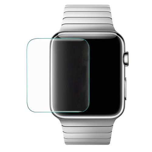 Premium protetor de tela de vidro temperado encobrir iWatch relógio da Apple de 42mm, 8-9H 0,3 mm espessura elevada transparência anti-riscos anti-poeira-à prova de explosão