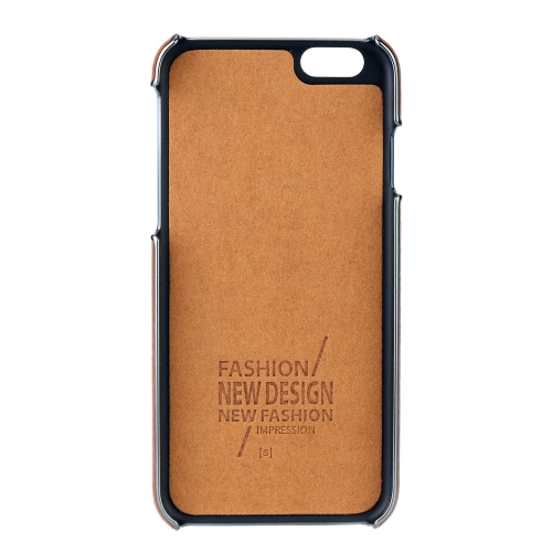 G-CASE Fashion PC + PU Hard Case Luxury Back Skin Protective Case for iPhone 6 4.7