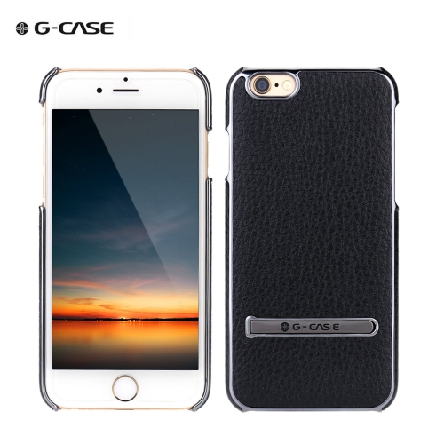 G-CASE Fashion PC + PU Hard Case Luxury Back Skin Protective Case for iPhone 6 Plus 5.5
