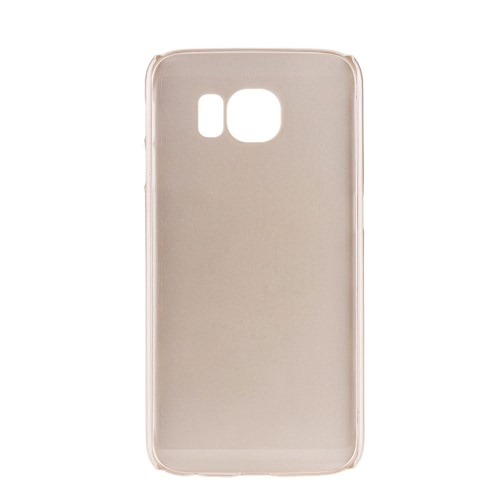 Per Samsung Galaxy S6 Edge PC Custodia Protettiva del Telefono D'oro il Cristallo Lussuoso e Brillante con il Disegno Speciale del Modello del Gufo Metallico