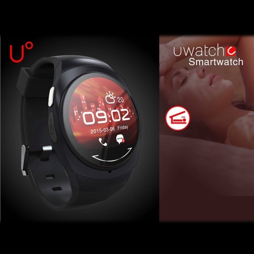 UO Smart Watch Bluetooth 4.0 for ihPone 5 6 6 Plus Samsung S6 S6 edge HTC Andriod Smartphone 1.22