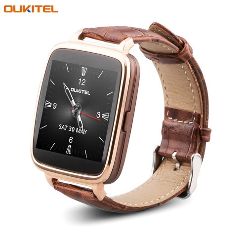 OUKITEL A28 Smart Watch IP53 Bluetooth 4.0 for iPone 5S 6 6 Plus iOS Samsung S6 S6 edge HTC Andriod Smartphone 1.54