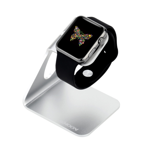 KKMOON liga de alumínio Charging Stand titular Dock Station para iWatch relógio da Apple 38mm 42mm edição todos os Eco-friendly Material elegante Lightweight Portable durável