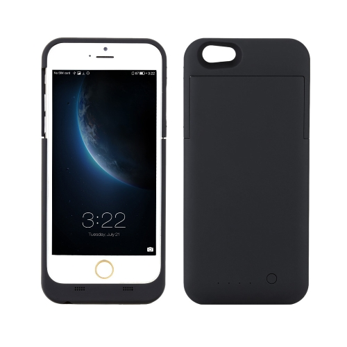 [with MFi Certification] Maxnon M6P 4000mAh External Built-in Battery Power Bank Case Pack Backup Charger Cover Full Case Protection for iPhone 6  Plus 5.5