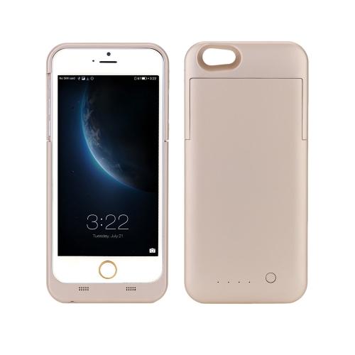 [com certificação de IFM] Maxnon M6P 4000mAh built-in bateria poder banco caso Pack Backup carregador cobrir completo caso proteção externa para iPhone 6 Plus 6S Plus 5.5