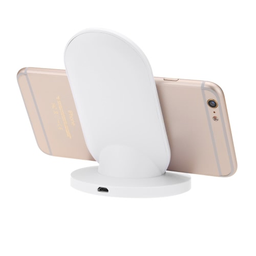 Docooler A2 Portable Mini Qi Wireless Charger Transmitter Ultrathin Slim Charging Pad for Samsung S5 S6 S6 Edge LG G4 Google Nexus 4/5 Nokia Lumia 920 iPhone 6 6 Plus