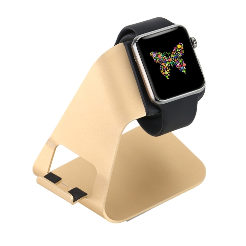All in 1 Aluminum Alloy Charging Stand Holder Station Dock Cradle for Apple Watch iWatch 38mm 42mm All Edition for iPhone 6 6S 6 Plus 6S Plus 5S 5C 5 Samsung Galaxy S6 S6 edge HTC Smartphone for iPad Tablets Pen Stand Eco-friendly Material Stylish Anti-skid Lightweight Portable Durable