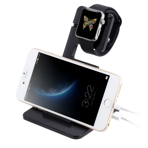 Itian Charging Dock Station Holder for Apple Watch iPhone iPad Comfortable Viewing Angle