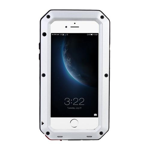 Proteção caso Shell cobrir Dustproof Shockproof impressão digital função de Metal durável para iPhone 6 6S 4,7