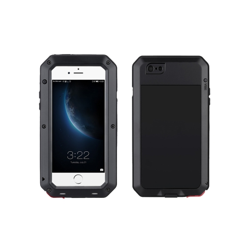 Custodia Protettiva di Metallo Copertura Durevole Antipolvere Antiurto Anti-Impronta Digitale per iPhone 6 Plus 6S Plus