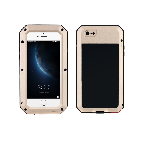 Durable Protective Case Shell Cover Dustproof Shockproof Fingerprint Function Metal for iPhone 6 Plus 6S Plus