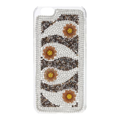 DIY flor telefone Case para iPhone 6 6S elegante portáteis ultrafino leve anti-scratch anti-poeira durável