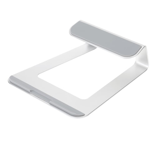 Aluminum Alloy Laptop Tablet Stand Holder Dock Station Cradle for Lenovo HP Dell Asus ThinkPad MacBook Air Pro Laptop iPad Tablets Eco-friendly Material Stylish Anti-skid Lightweight Portable Durable