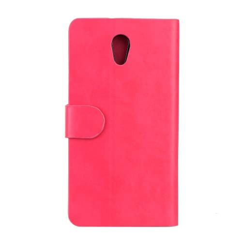 KKmoon aleta carteira luxo caso capa de couro PU para ZUK Z1 completo corpo proteger Shell cartão Insert Stand caso