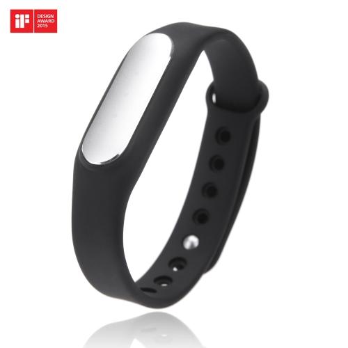 Xiaomi otimizado bracelete leve IP67 Smart Wireless BT4.0 saudável esportes Miband para Mi nota/Pro Mi4 Redmi/Redmi2 nota/Obs2 4G iPhone 5S 6 6 Plus 6S 6S Plus com IOS7.0 ou acima se Design Award 2015 branco LED indicador