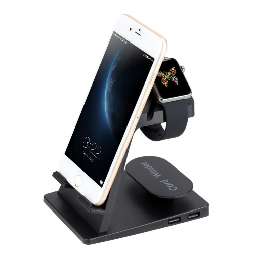 Itian A16 Charging Stand Charging Station Dock berceau pour montre Apple iPhone iPad