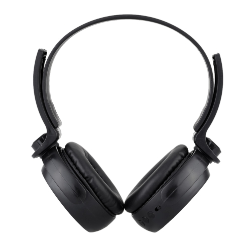 Wireless Retractable Stereo BT 4.0 Headset Earphone Headphone with Microphone Phone Answering External Audio Line Function TF Card thumbnail