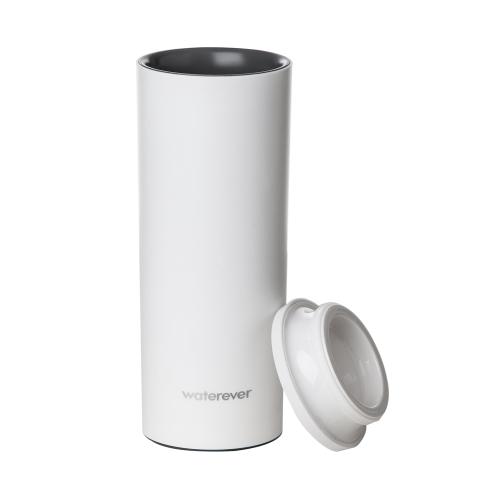 iPinto WatereverスマートインテリジェントカップIPX56防水  OS 8.0  Android 4.4  Bluetooth 4.0 スマートフォン レッド ドット デザイン賞 受賞2015 飲酒リマインダー 温度表示 相互作用 無線は充電 水レコード   iPhone 6 6 Plus 6S 6S Plus用