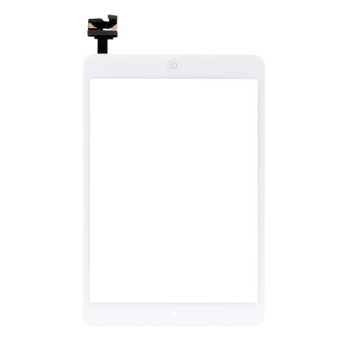 アウター G + G容量性 タッチ スクリーン マルチタッチ デジタイザー 交換 アセンブリ オリジナル ICコネクタ フレックス ホームボタン iPad mini 1 2用