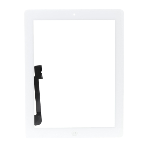Outer G + G Capacitive Touch Screen Multi-touch Digitizer Replacement Assembly with Flex Home Button for iPad 3