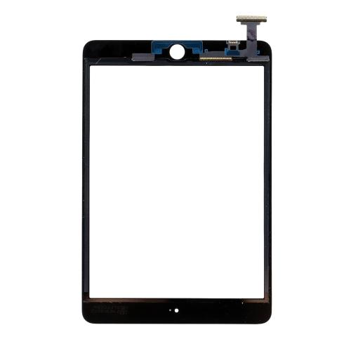 高品質 タッチスクリーン マルチタッチ デジタイザー 交換アセンブリ  ICチップ コネクタフレックス ホームボタン iPad mini 1 mini 2用