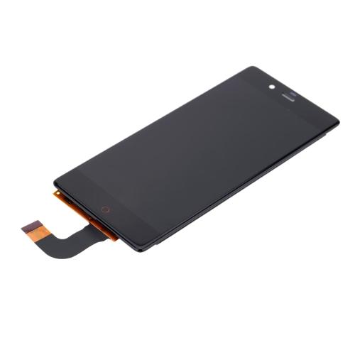 Oryginalny ekran LCD o pojemności 5,2 cala z ekranem LCD z ekranem dotykowym + ekran dotykowy Ekran dotykowy z funkcją wielokrotnego montażu z kablem Flex dla ZTE Nubia Z9