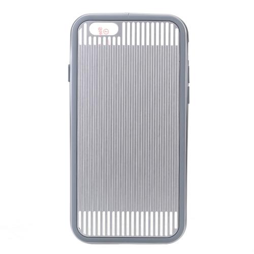 HFC-X Ультра Тонкий Защитный Металлический Чехол Охлаждения Радиационная Защита Энергосбережения со Сменной TPU Рамкой Чехола для iPhone 6 6S 4.7