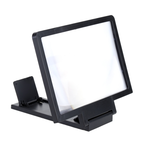Portable Mobile Phone Screen Magnifier Eyes Protection Display 3D Video Screen Amplifier Folding Enlarged Expander Stand