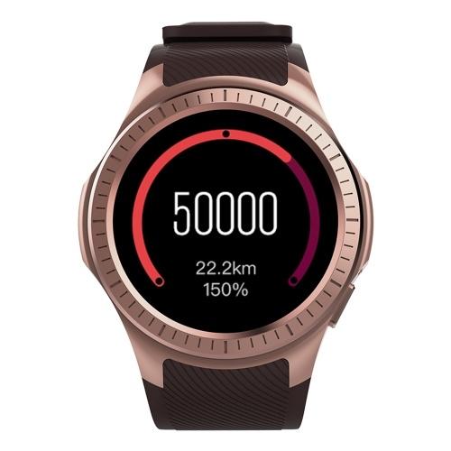 秒ハンドマイクロウェアL1スマートウォッチ2G GSM腕時計電話1.3インチラウンドHD IPSディスプレイMTK2503 BT 3.0 + 4.0 480mAhバッテリー0.3MPカメラ心拍睡眠モニタリモートカメラ血圧GPS Baiduスポーツ腕時計スマートフォン用
