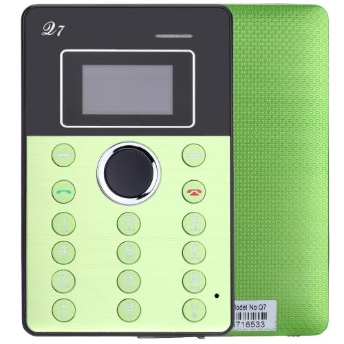 Aiek Q7 2G GSM Card Mini Mobile Cell Children Students Phone Pocket Ultra Slim MTK6261D 0.96