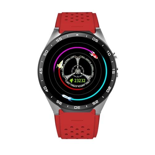 Kingwear KW88 3G Smartwatch Phone 1.39 inch UHD AMOLED