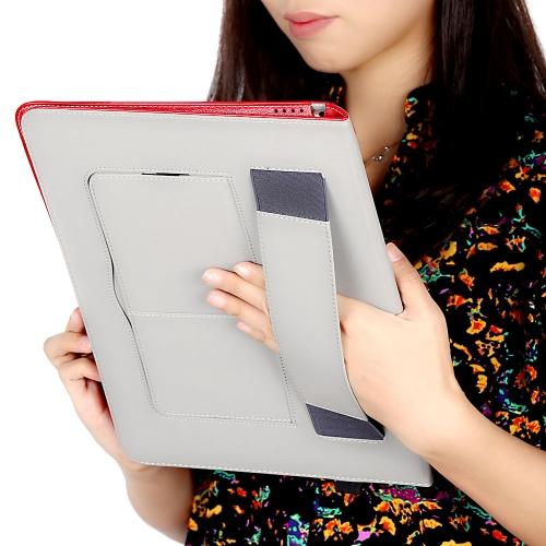 PU cuero tableta cubierta caja tirón